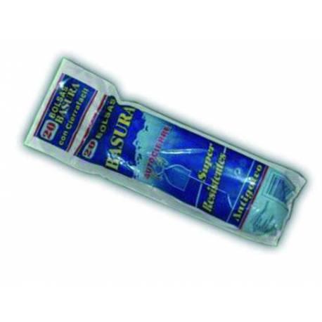 BOLSA DOMÉSTICA 55x55 Azul Cierra Fácil