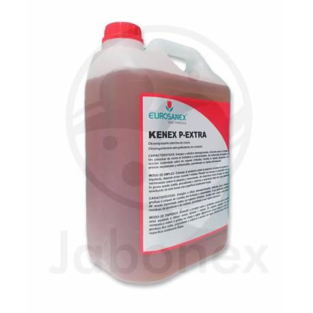 Desengrasante para planchas de cocina KENEX P-EXTRA Garrafa de 5, 10 y 20 litros. No genera vapores nocivos
