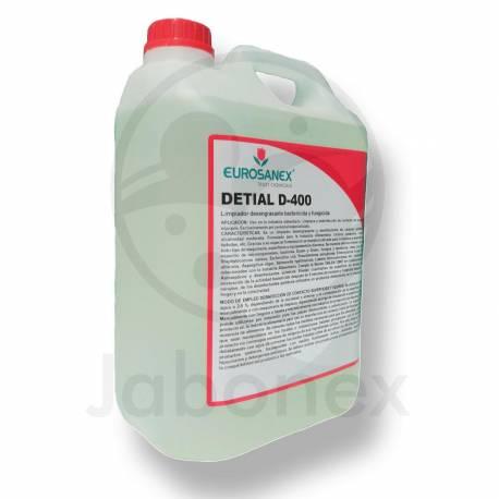 Limpiador Desengrasante Bactericida. Detial D-400