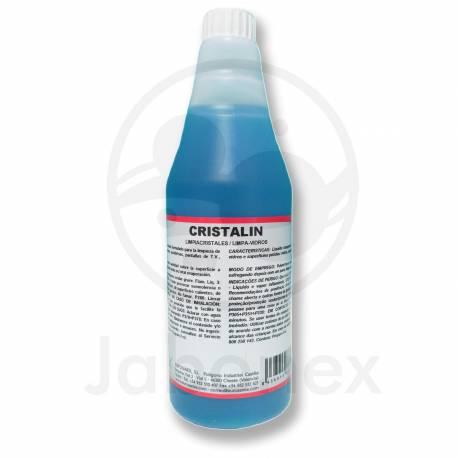 Líquido limpiacristales multiusos. Cristalin. Botella: 750cc