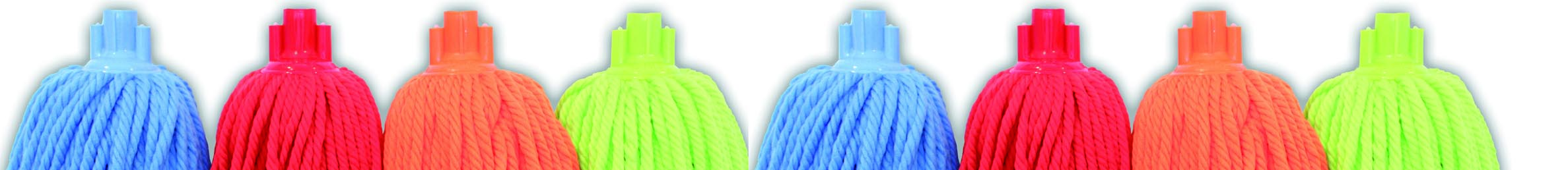 Fregonas especiales de hilos de colores