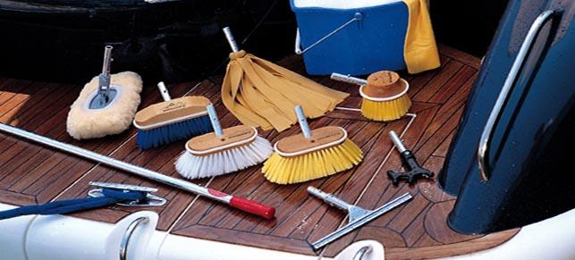 Limpieza de barcos