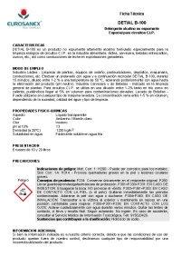 Ficha técnica de DETIAL D-400