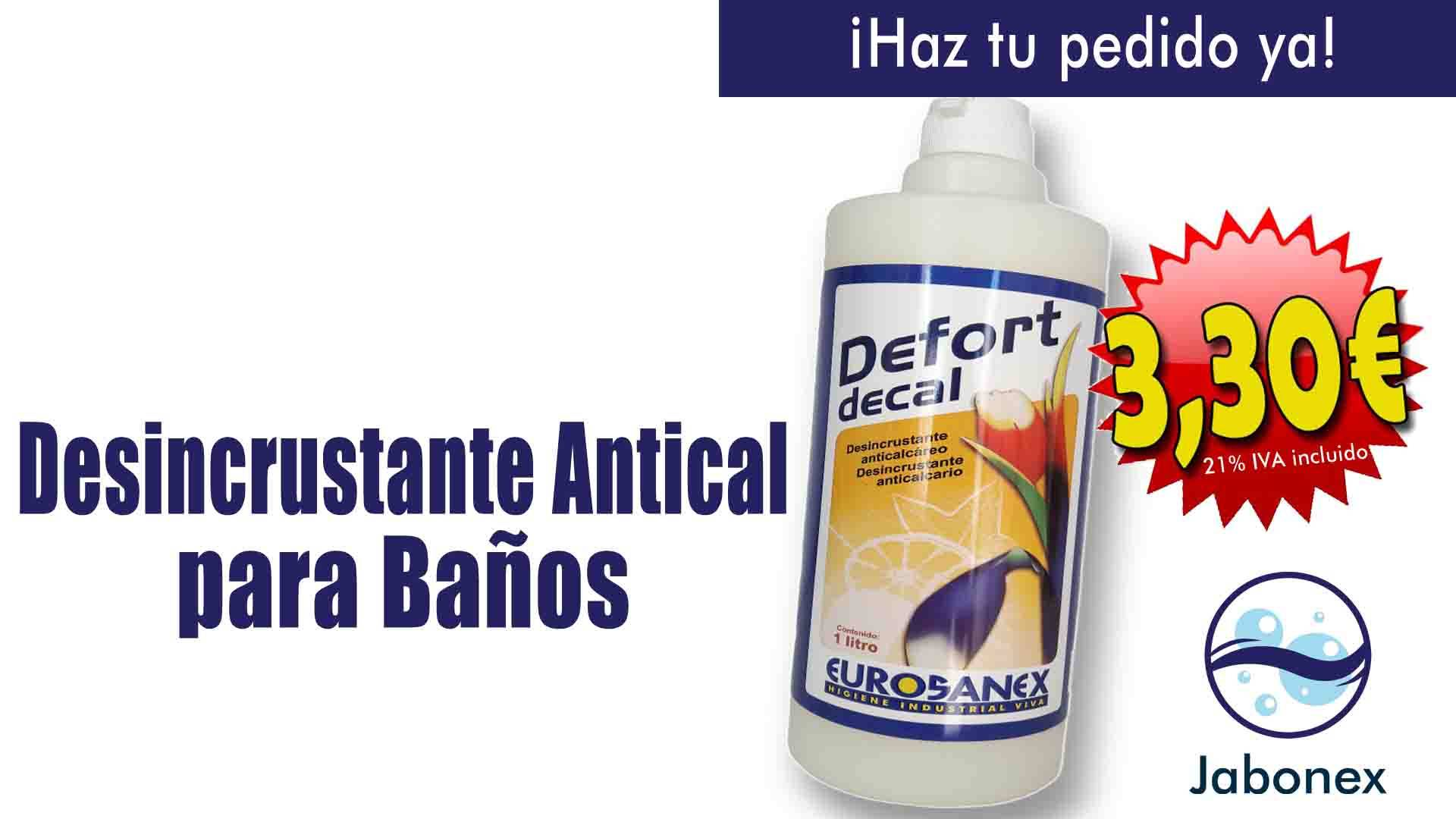 Defort Decal: Desincrustante antical
